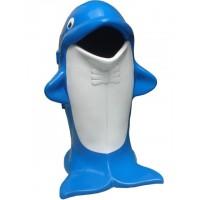 Dustbin dolphin