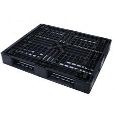 Pallet nhựa đen 1100x1100mm ( tải tĩnh: 1,5 tấn)