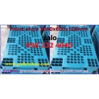 Pallet nhựa 1000x600x100mm