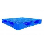 Pallet nhựa 1100x1100mm (tải động-tải tĩnh: 1-3 tấn)