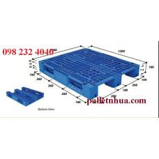 pallet 1200x1000x160 mm sử dụng xe nâng cao